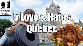Download Visit Quebec - 5 Things You Will Love & Hate about Quebec City, Canada Video