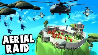 Download Helicopters and Paratroopers Invade an Island Fort in Ancient Warfare 3! Video