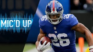 Download Saquon Barkley Mic'd Up vs. Redskins ″That's AP bro, you ever watch his highlights?″ | NFL Films Video