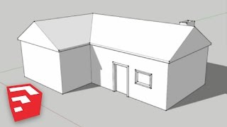 Download SketchUp 8 Lessons: Making a Simple House Video
