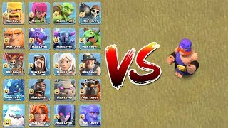 Download ALL TROOPS VS EL PRIMO | WHO WILL WIN ?? | CLASH OF CLANS | Video