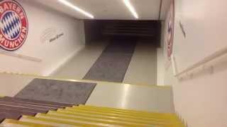 Download Bayern München - Führung durch die Allianz Arena in München Video