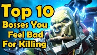 Download Top 10 Raid Bosses You Feel Bad About Killing (World of Warcraft) Video