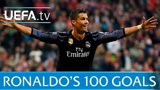 Download Cristiano Ronaldo - Watch all of his 100 European goals Video