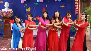 Download Tâm tình cô giáo mầm non (múa)- do các cô giáo Trường mầm non thị trấn Quế thể hiện #03 Video