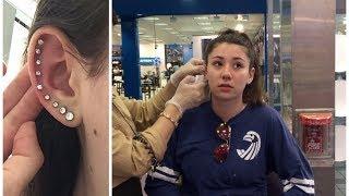 Download PIERCING MY WHOLE EAR!! | BeautyBySamixox Video