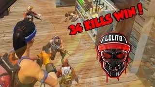 Download 💀 ¡MI MEJOR PARTIDA, 34 KILLS WIN! 💀 ~ FORTNITE Video