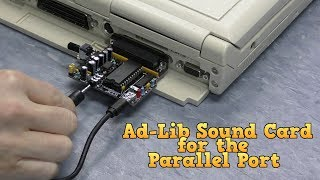Download Ad-Lib Sound Card for the Parallel Port Video