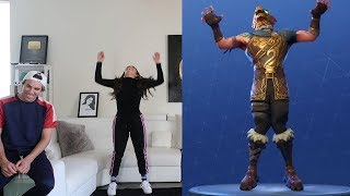 Download FORTNITE DANCE CHALLENGE IN REAL LIFE!! Video