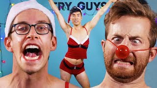 Download The Try Guys Try Naughty Christmas Costumes Video