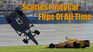 Download Scariest IndyCar Flips Of All Time Video
