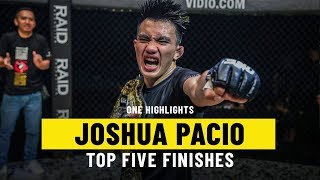 Download Joshua Pacio's Top 5 Finishes | ONE Highlights Video