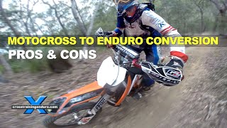 Download MOTOCROSS TO ENDURO CONVERSION 1: the savage beast Video