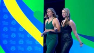 Download Olympic Team Introduction | 2016 Golden Goggles Award Show Video