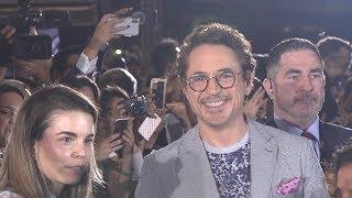 Download Avengers Infinity War Singapore Premiere - Robert Downey Jr, Benedict Cumberbatch, Karen Gillan Video