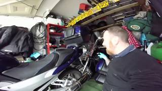 Download YAMAMA FJR 1300 OIL CHANGE HOW EASY TO DO MARK SAVAGE Video
