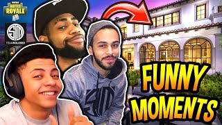 Download THE TSM HOUSE FUNNY & SAVAGE MOMENTS FT. MYTH, HAMLINZ & DAEQUAN!! (PRANKS) Fortnite Moments Video