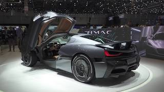 Download Live from Geneva 2018 - RIMAC C TWO Video