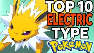 Download Top 10 Electric Type Pokemon (Top Pokemon of Every Type #2) Video