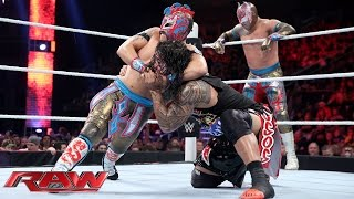 Download The Usos vs. The Lucha Dragons - No. 1 Contenders' Match: Raw, November 30, 2015 Video
