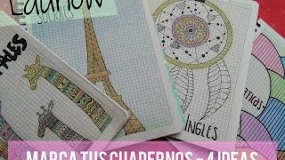 Download COMO MARCAR TUS CUADERNOS?? TE DOY 4 IDEAS | LAUNOW Video