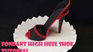 Download Fondant High Heel Shoe Tutorial Video