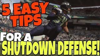 Download EASY 5 STEP SYSTEM TO BECOME AN ELITE DEFENSIVE PLAYER IN MADDEN 20! Defense Gameplay Tips & Tricks Video