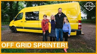 Download Family's Incredible Self-Build Sprinter Van - VAN TOUR! Video