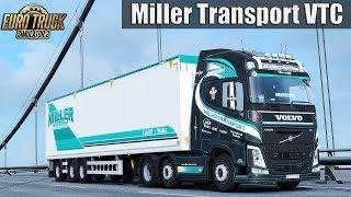 Download ✅ ETS2 - Miller Transport Combo Skinpack VTC Video