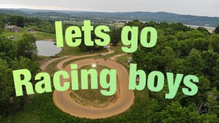 Download Track preparation and Friday night racing Video