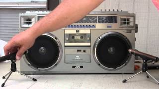 Download JVC RC-M70JW Boombox Unboxed & checked out Video