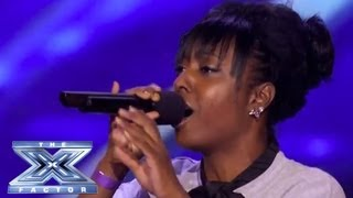 Download Ashly Williams' Emotional ″I Will Always Love You″ Prompts Tears - THE X FACTOR USA 2013 Video
