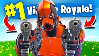 Download Using *ONLY* DUAL PISTOLS To WIN Fortnite Battle Royale! (Challenge) Video