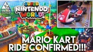 Download Real Life Mario Kart Ride Confirmed! Super Nintendo World Universal Studios News + Updates Video