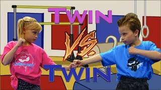 Download Sister vs Brother - Twin Gymnastics Video