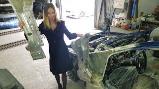 Download Моя Тесла Tesla. Разошёлся кузов. Переделка на 500 тр. Лиса рулит Video