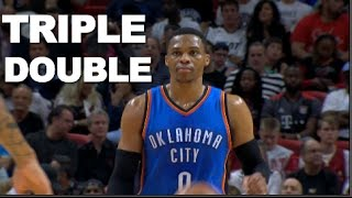 Download Russell Westbrook Posts 29/17/11 Triple Double | 12.27.16 Video
