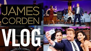 Download LATE LATE SHOW VLOG   With James Corden   Jenna Dewan Video