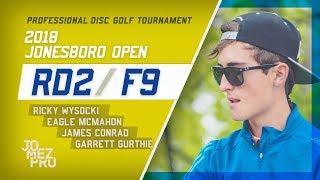 Download 2018 Jonesboro Open | Rd2, F9, MPO | Wysocki, McMahon, Conrad, Gurthie Video