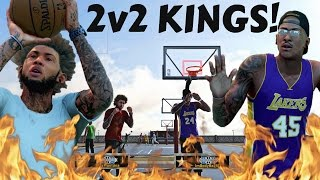 Download GREEN LIGHT SPECIAL JUMPER AT FULL FORCE! | STAXMONTANA AND JUICEMAN OWN THE 2V2! - NBA 2k16 MyPark Video