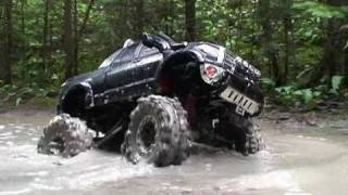 Download RC ADVENTURES - Scale Trucks #8 - Mudding with a TAMiYA TUNDRA High-lift 4x4 in the Swamp Video