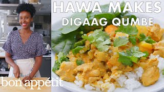 Download Hawa Makes Digaag Qumbe (Somali Stew) | From the Test Kitchen | Bon Appétit Video