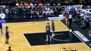 Download Regal FC Barcelona - Los Angeles Lakers (NBA Europe Live Tour 2010) (7-10-2010) Video