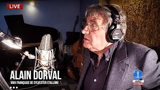 Download Alain Dorval (voix de Sylvester Stallone) en Backstage Studio (18 Mai 2016) Video