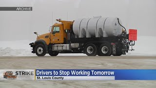 Download St. Louis Co. Plow Drivers Start Strike Wednesday Video