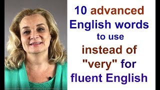 Download Ten Advanced English Words for More Fluent Speech Video