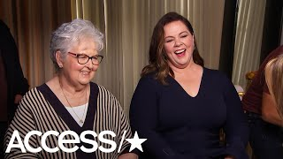 Download Melissa McCarthy's Mom Had A Blast Mingling With Stars At The Oscar Luncheon | Access Video