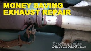 Download Money Saving Exhaust Repair -EricTheCarGuy Video