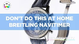 Download Don't Do This at Home: Breitling Navitimer & Valjoux 7750 caliber Video
