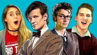 Download TEENS REACT TO DOCTOR WHO Video
